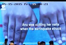 OXFAM NEPAL EARTHQUAKE WECL